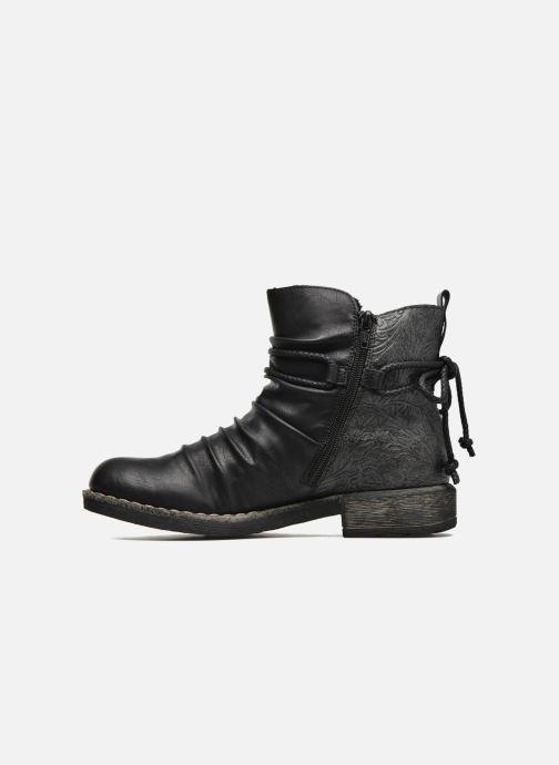 Bottines et boots Rieker Angel 74688 Noir vue face