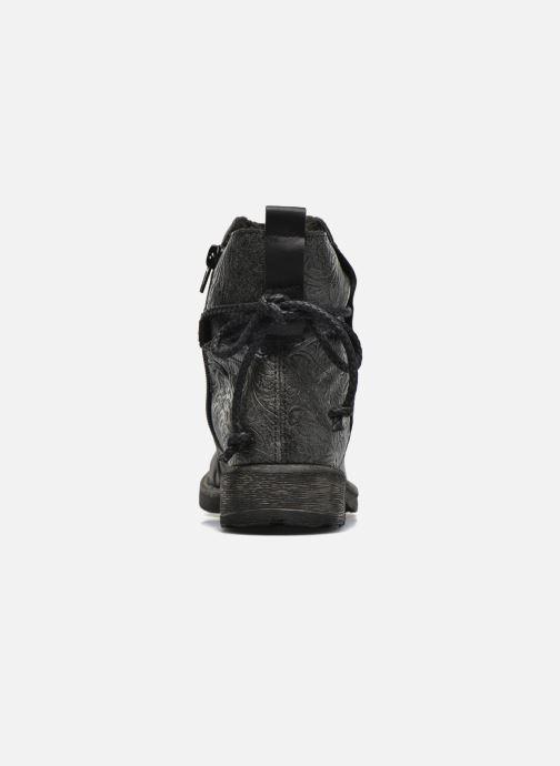 Bottines et boots Rieker Angel 74688 Noir vue droite