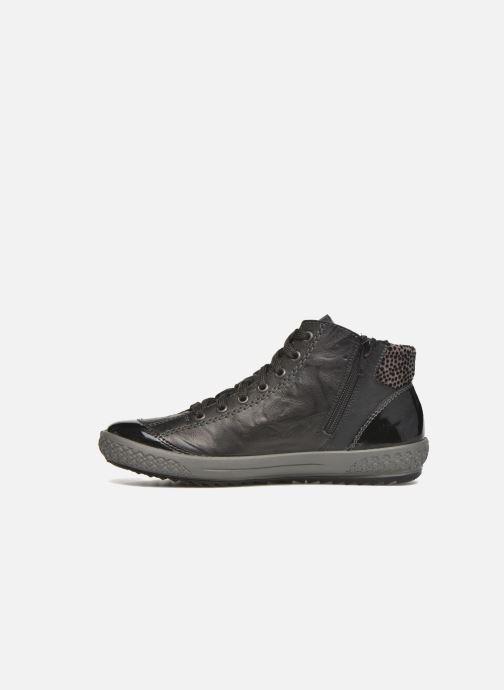 Sneakers Rieker Gilb M6143 Nero immagine frontale