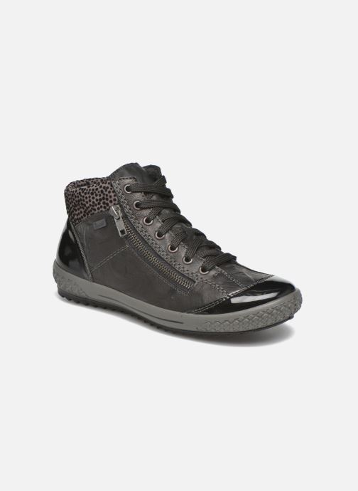 Rieker Gilb M6143 (Zwart) Sneakers chez Sarenza (269825)