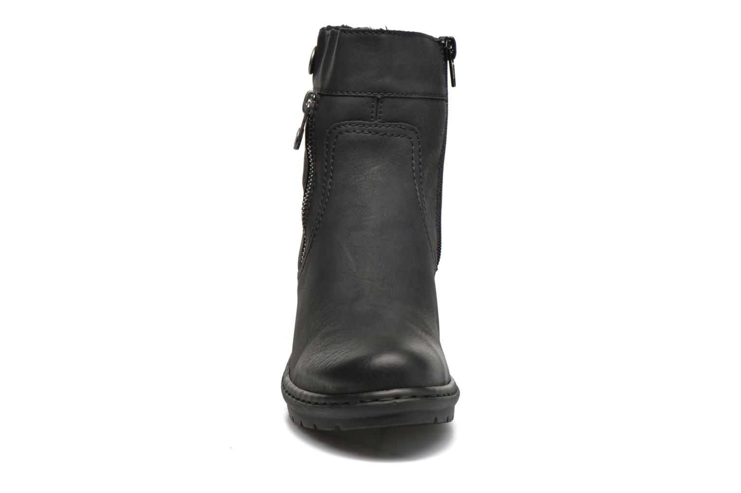 Ankle boots Rieker June Y1553 Black model view