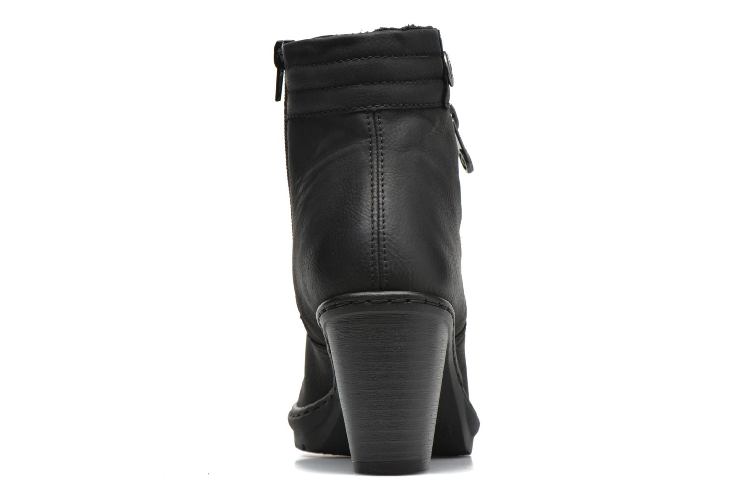 Ankle boots Rieker June Y1553 Black view from the right