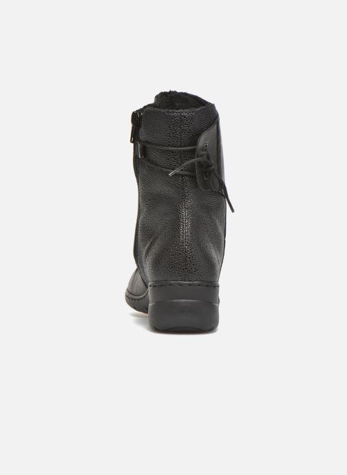 Rieker Tif Z4362 (Noir) Bottines et boots chez Sarenza
