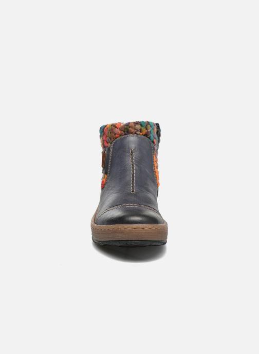 Bottines et boots Rieker Ambre Z6784 Multicolore vue portées chaussures