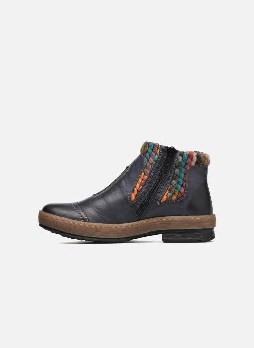 Bottines et boots Rieker Ambre Z6784 Multicolore vue face