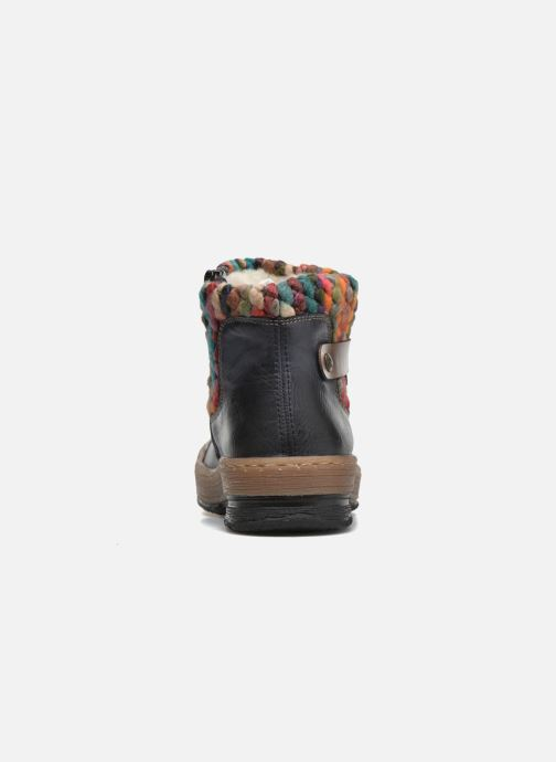 Bottines et boots Rieker Ambre Z6784 Multicolore vue droite