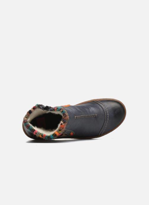 Stivaletti e tronchetti Rieker Ambre Z6784 Multicolore immagine sinistra