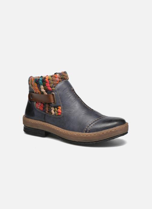 Ankle boots Rieker Ambre Z6784 Multicolor detailed view/ Pair view