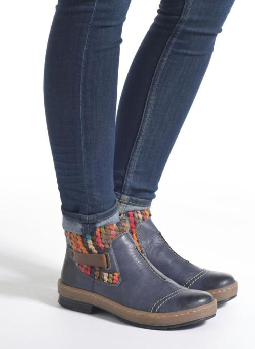 Ankle boots Rieker Ambre Z6784 Multicolor view from underneath / model view