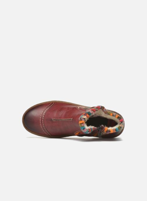 Ankle boots Rieker Ambre Z6784 Multicolor view from the left
