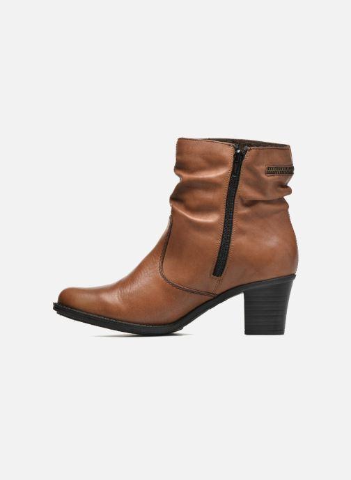 Bottines et boots Rieker Lina Z7651 Marron vue face