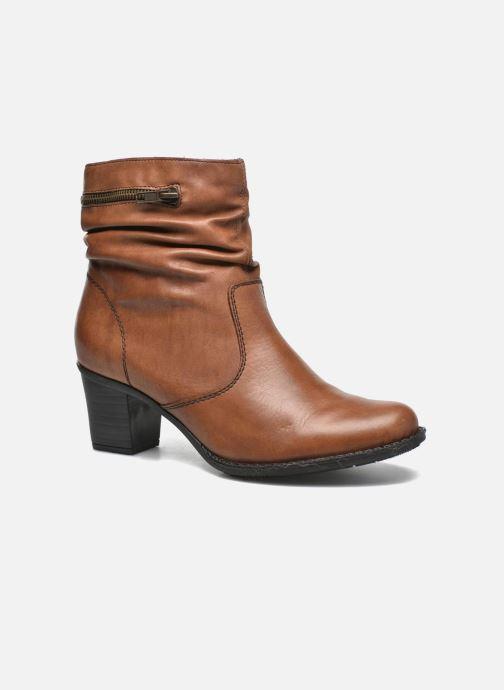 Bottines et boots Rieker Lina Z7651 Marron vue détail/paire