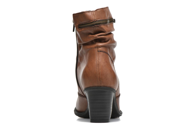 Bottines et boots Rieker Lina Z7651 Marron vue droite