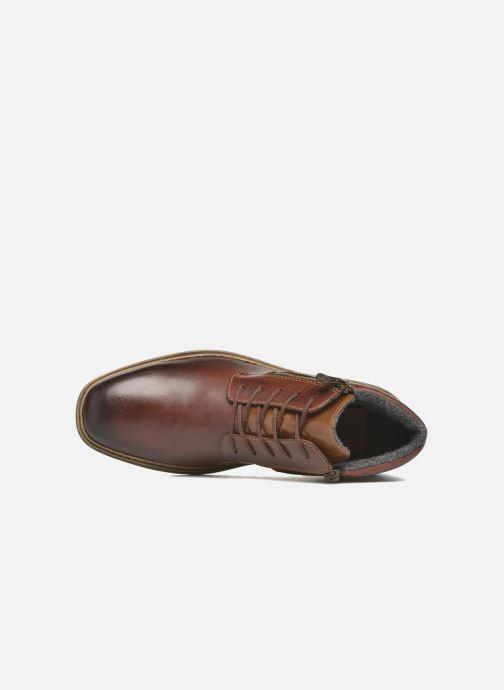 Boots en enkellaarsjes Rieker Pierre F1233 Bruin links