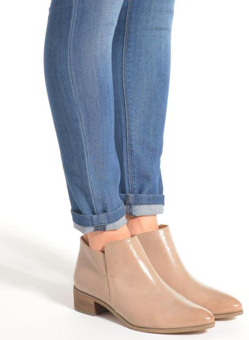 Bottines et boots Clarks Marlina Revel Beige vue bas / vue portée sac