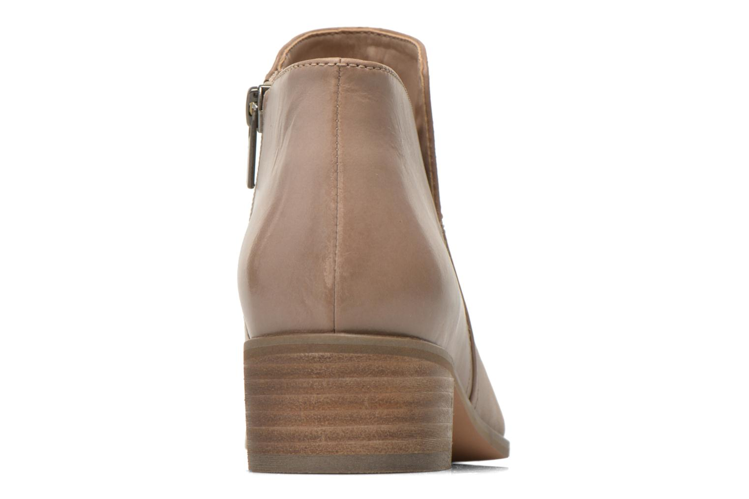 Ankle boots Clarks Marlina Revel Beige view from the right