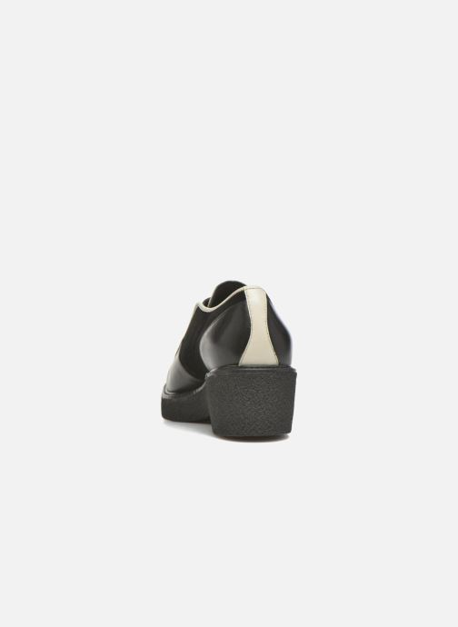 Chaussures à lacets What For Yvy Noir vue droite