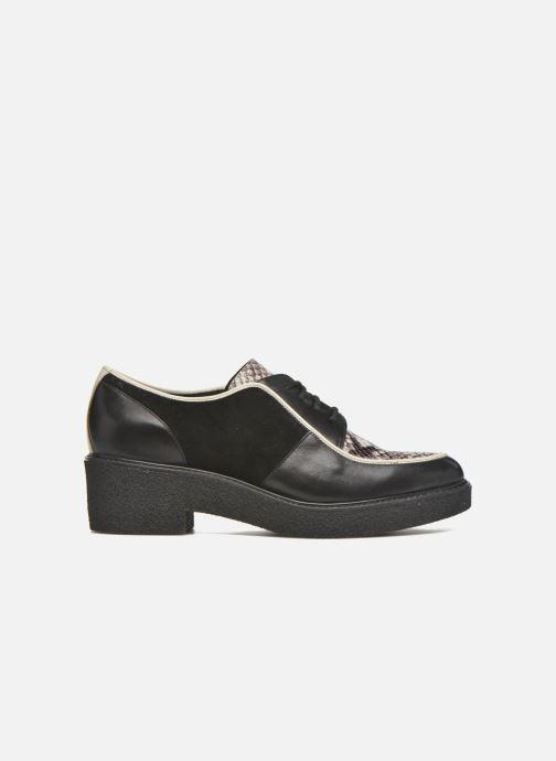 Chaussures à lacets What For Yvy Noir vue derrière