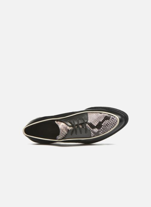 Chaussures à lacets What For Yvy Noir vue gauche