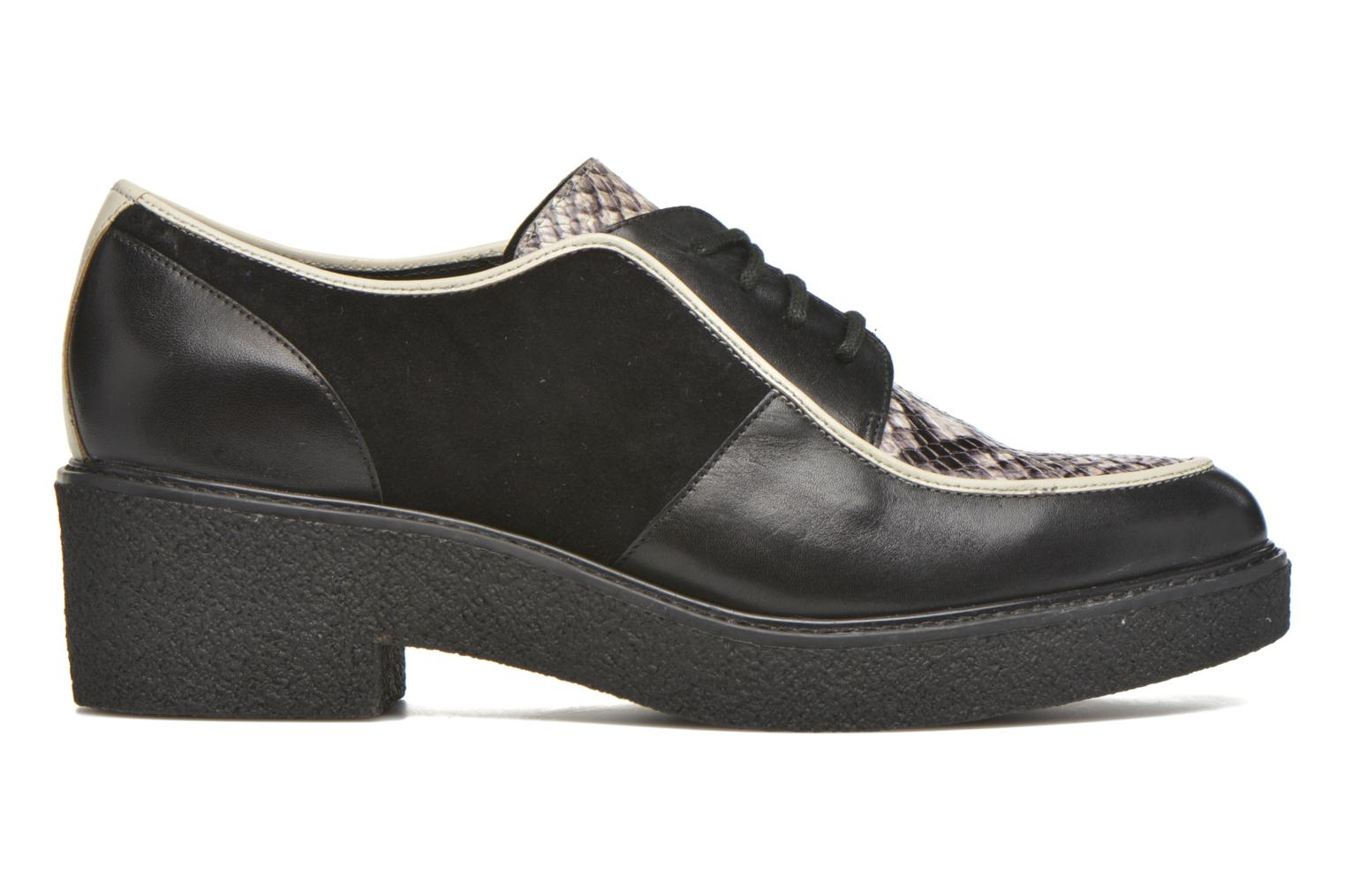 Zapatos con cordones What For Yvy Negro vistra trasera