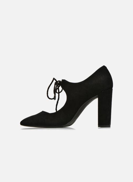 Zapatos de tacón What For Okil Negro vista de frente