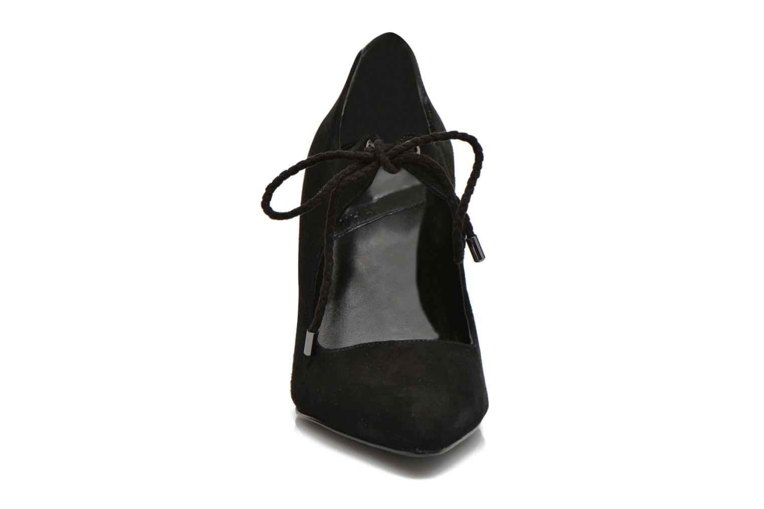 High heels What For Okil Black model view