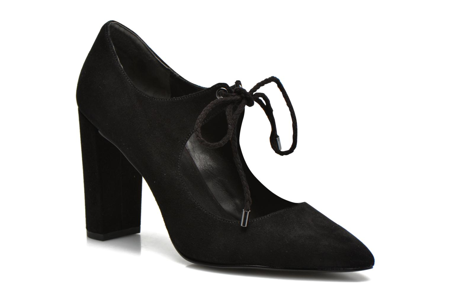 High heels What For Okil Black detailed view/ Pair view