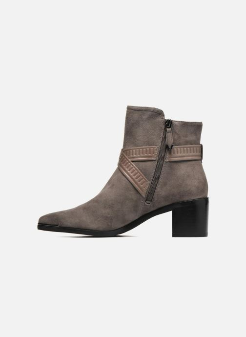 Bottines et boots What For Meyes Marron vue face