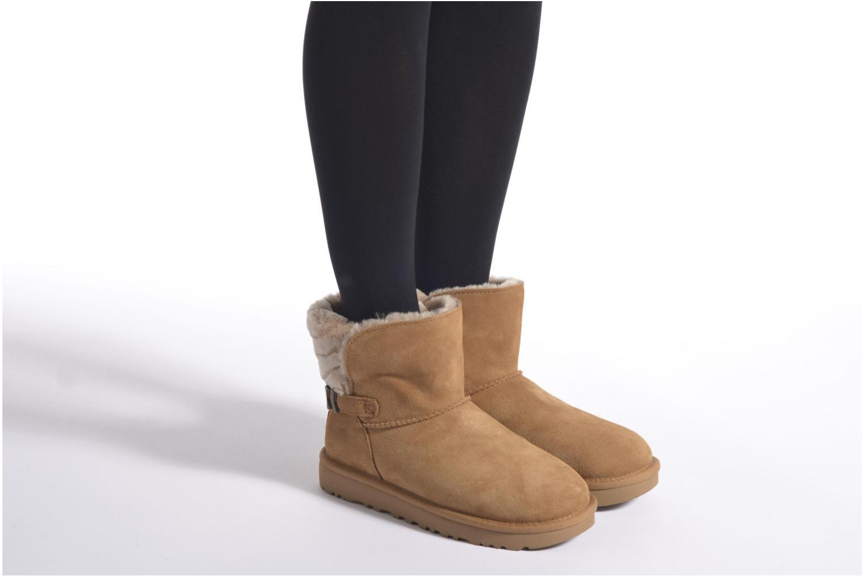Bottines et boots UGG Adria Gris vue bas / vue portée sac