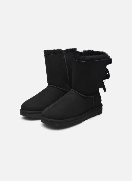 Stiefeletten & Boots UGG W Bailey Bow II schwarz ansicht von unten / tasche getragen