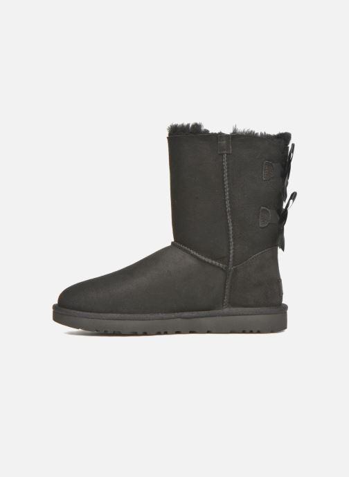 Stiefeletten & Boots UGG W Bailey Bow II schwarz ansicht von vorne