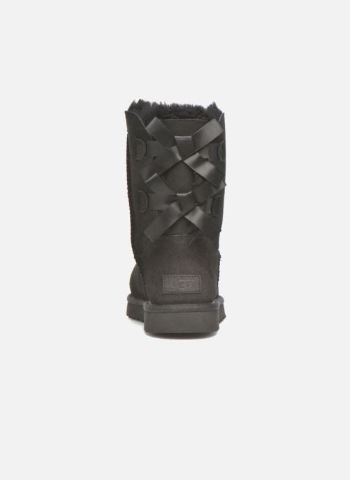 Stiefeletten & Boots UGG W Bailey Bow II schwarz ansicht von rechts