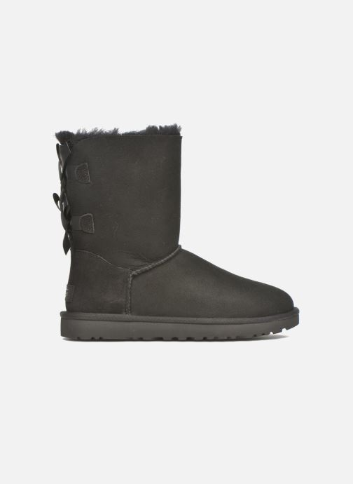 Bottines et boots UGG W Bailey Bow II Noir vue derrière