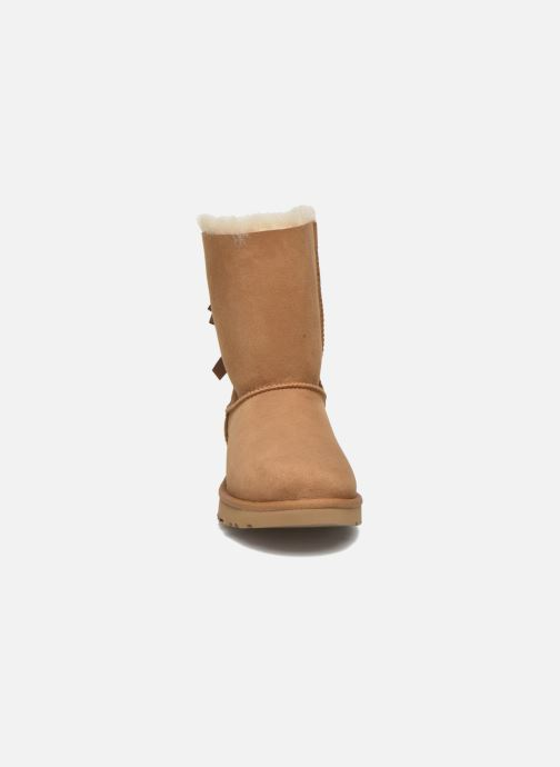 Stiefeletten & Boots UGG W Bailey Bow II braun schuhe getragen