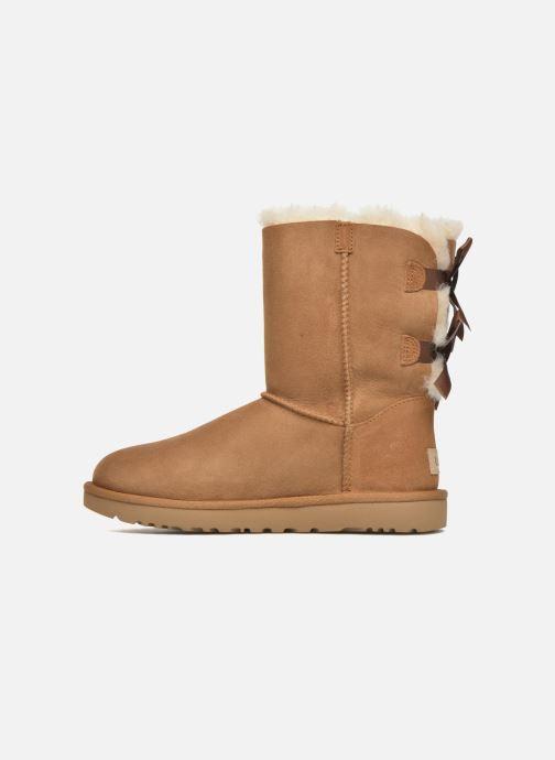 Bottines et boots UGG W Bailey Bow II Marron vue face