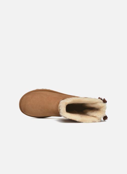 Boots en enkellaarsjes UGG W Bailey Bow II Bruin links