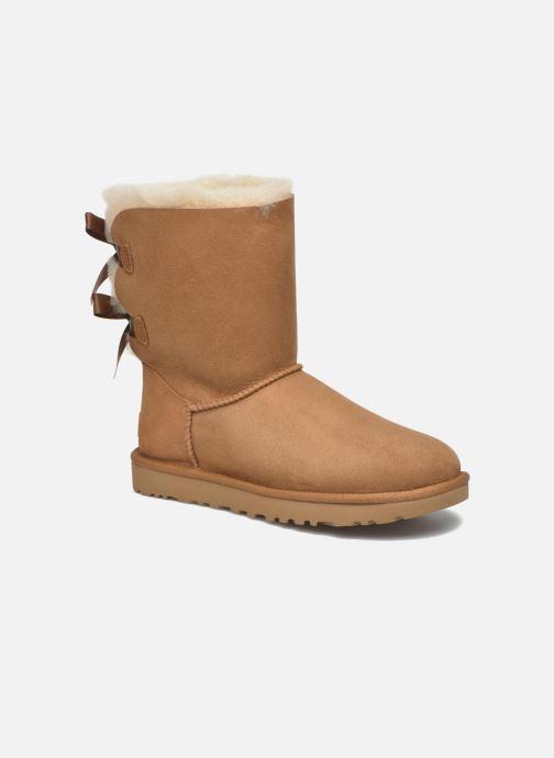 Boots en enkellaarsjes UGG W Bailey Bow II Bruin detail