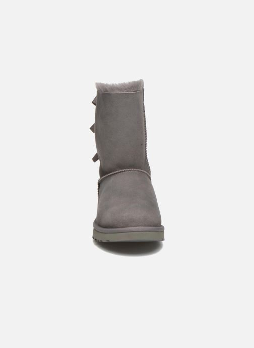 Bottines et boots UGG W Bailey Bow II Gris vue portées chaussures