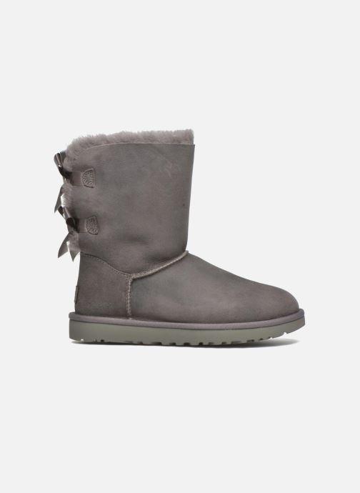 Stiefeletten & Boots UGG W Bailey Bow II grau ansicht von hinten