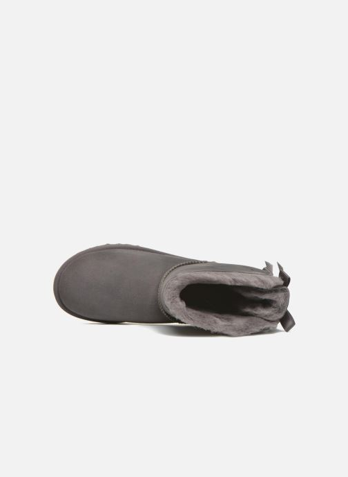 Bottines et boots UGG W Bailey Bow II Gris vue gauche