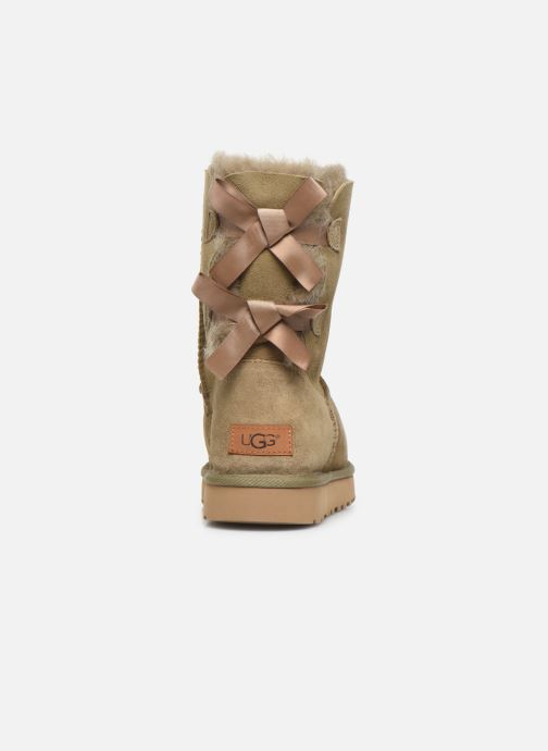 Bottines et boots UGG W Bailey Bow II Marron vue droite