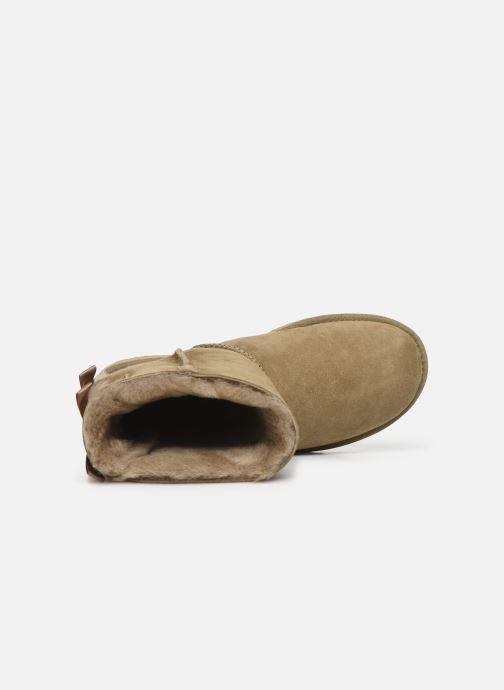 Bottines et boots UGG W Bailey Bow II Marron vue gauche