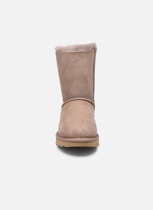 Bottines et boots UGG W Bailey Bow II Beige vue portées chaussures