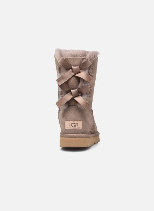Bottines et boots UGG W Bailey Bow II Beige vue droite