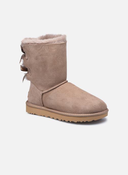 Bottines et boots UGG W Bailey Bow II Beige vue détail/paire