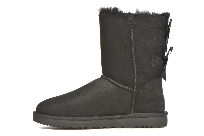 Bottines et boots UGG W Bailey Bow II Noir vue face
