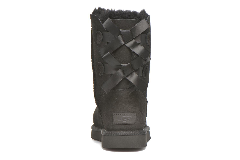 Bottines et boots UGG W Bailey Bow II Noir vue droite