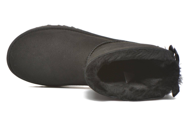 Bottines et boots UGG W Bailey Bow II Noir vue gauche