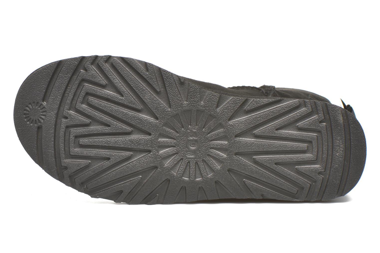 Bottines et boots UGG W Bailey Bow II Noir vue haut