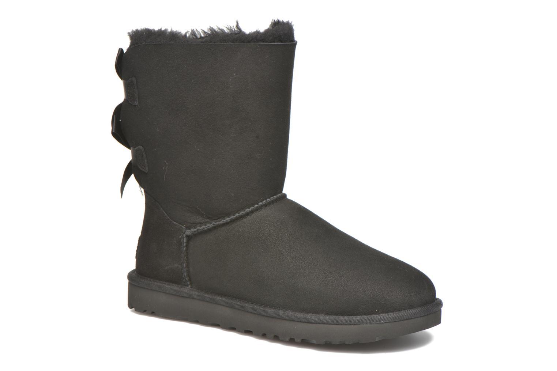 Bottines et boots UGG W Bailey Bow II Noir vue détail/paire